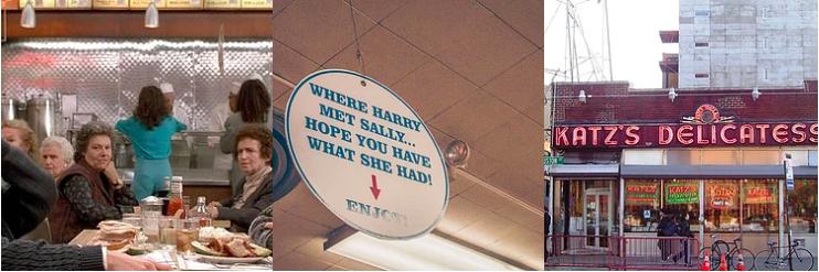 Katz's Delicatessen - Cuando Harry encontró a Sally